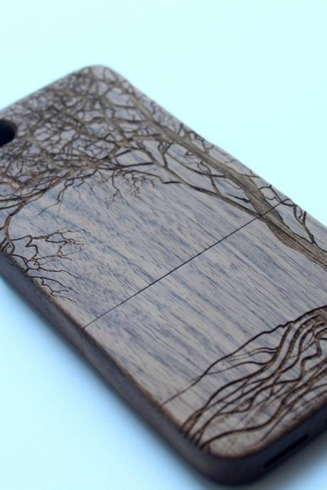 Nature Wood Iphone 6 Case. 6W09